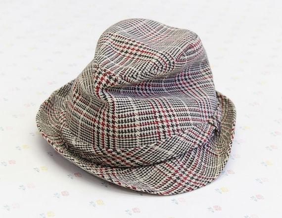 a1c3141b538 Vintage Mens Fedora Hat for Him Vintage Gifts for Men Mens