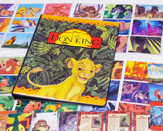 Vintage Disney The Lion King Collectible Cards Lion King Cards For Kids Disney Kids Toys Disney Collector Cards For Kids 90s Kids Cards