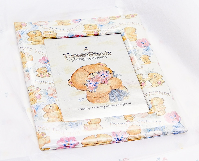 90f882499d12 Vintage Forever Friends Bear Photo Frame Special Gift for