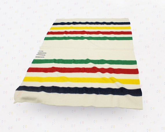antique hudson bay point blankets