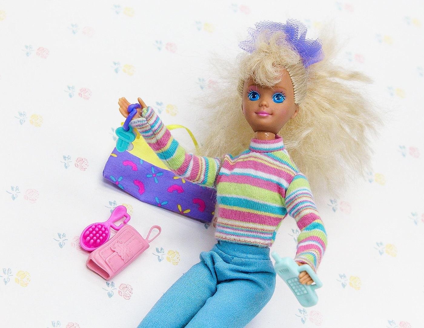 80s barbie skipper doll babysitter vintage barbie clothes etsy