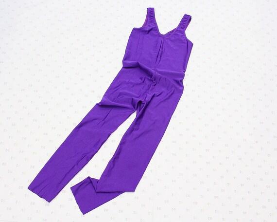 Vintage Unitard Bodysuit, Girls Dance Costume, 80s