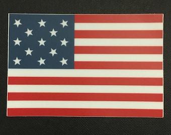 2e3c8409edaf 13-Star United States Flag