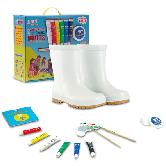 Boys Casual Sneakers Shoes Paintable /& Erasable DIY Acrylic Craft Kit Gift New