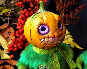 Pumpkin man for Halloween,IN STOCK !