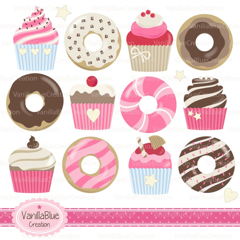 clipart cakes birthday cake Clipart donuts clip art kitchen clipart cupcakes