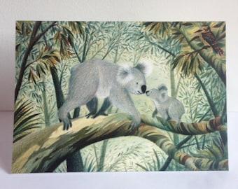 Koala Card Illustration (A6)