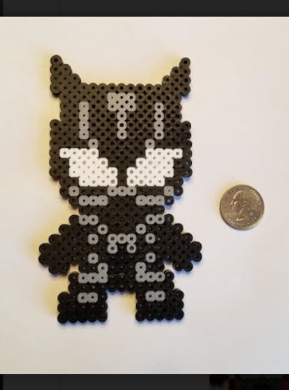 Black Panther Perler Bead Etsy