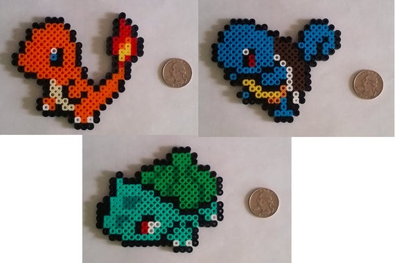 First Gen Pokemon Perler Beads