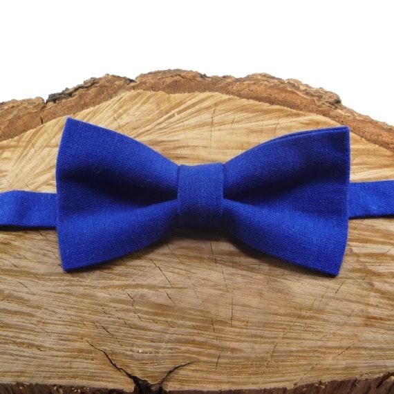 Bow Tie Adults Men Royal Blue Wedding Winter Formal Wear Adjustable Accessories