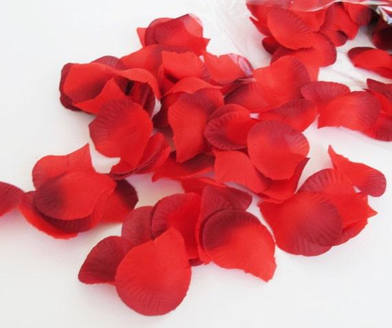 1000 pcs red silk rose petals wedding flower favor decoration etsy image 0 mightylinksfo