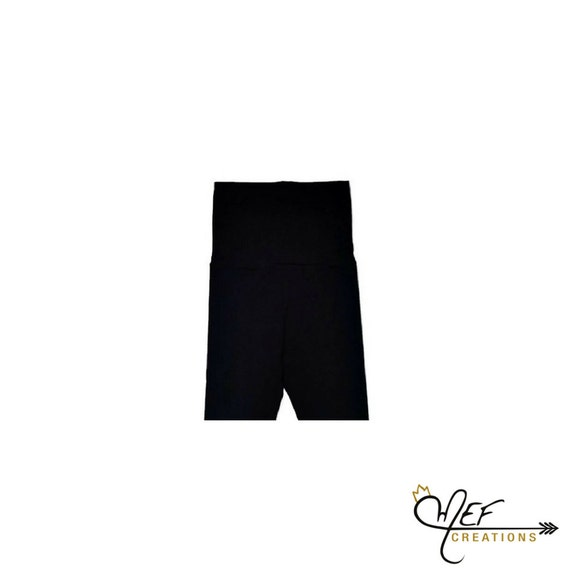 handmade baby pants by MEF Creations Boutique Black baby leggings black grow with me pants for babies