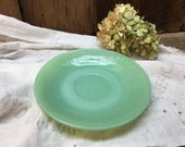 Fire King Jadeite Saucer Oven Ware Made in USA