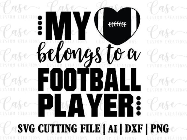 Eagles Heart Football Svg Dxf Png Cricut Silhouette Diy Free Photos