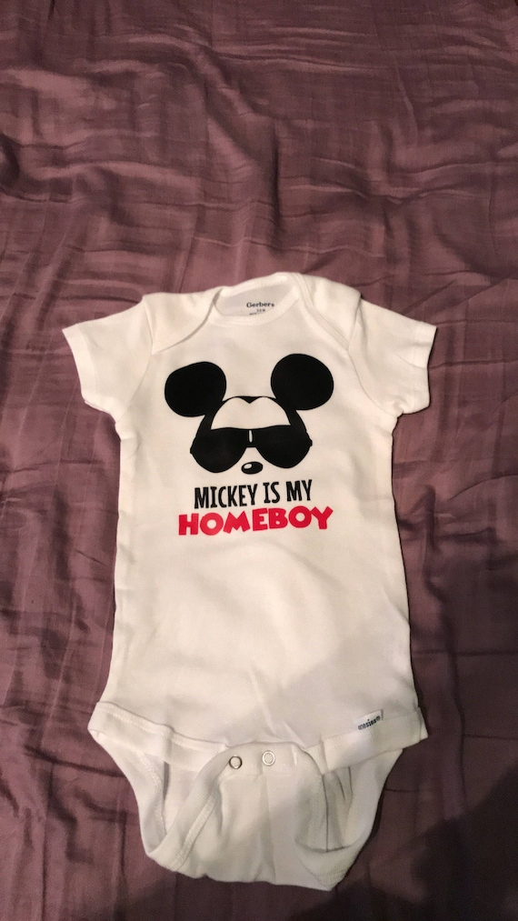 Mickey is my homeboy | Etsy