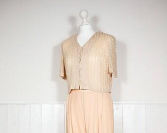 Vintage Lace Top Jumpsuit