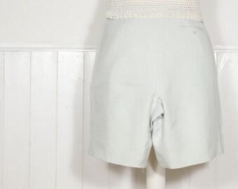 Vintage High Waisted Silk Shorts