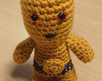 C-3PO Star Wars crochet figure