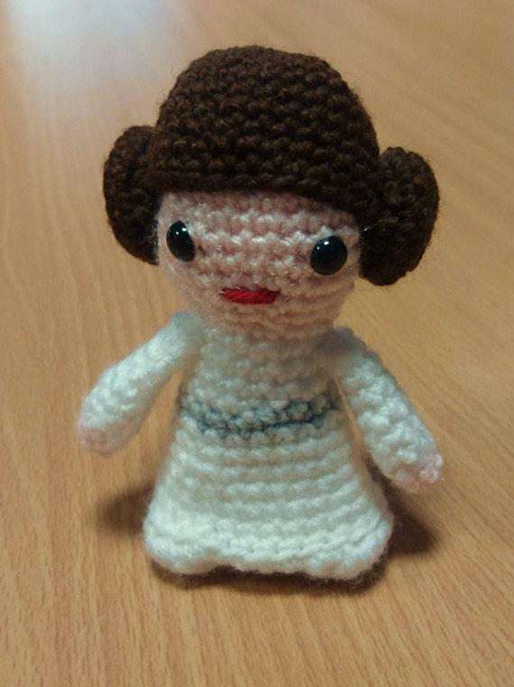 Prinzessin Leia Star Wars Häkeln Figur Etsy