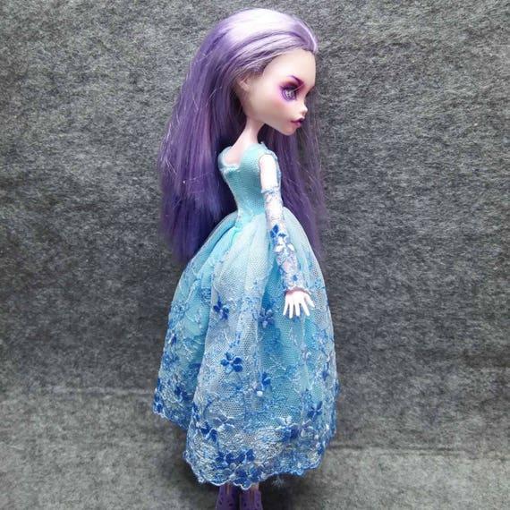 Articles similaires tenue robe unique pour monster high poup es monsterhigh sur etsy - Tenue monster high ...