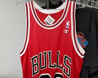 33cfeda8d Vintage 90s Champion Chicago Bulls Michael Jordan NBA Basketball Unisex  Jersey