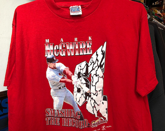 new concept 35d39 eadd3 Mark mcgwire t shirt | Etsy