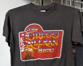 9ff47121e Vintage 80s The Greg Allman Band Concert Country Rock Single Stitch Unisex T -Shirt