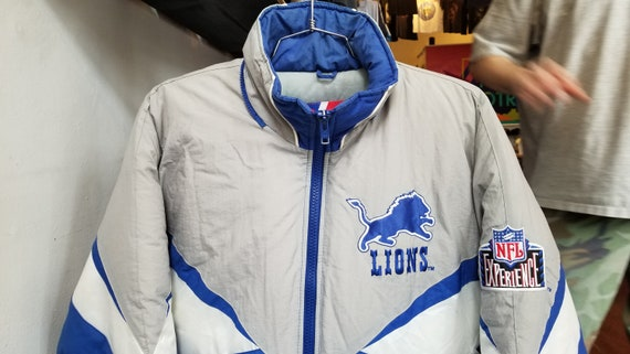 0291d39c Vintage 90s Pro Player Detroit Lions NFL Football Unisex Full Zip Winter  Coat