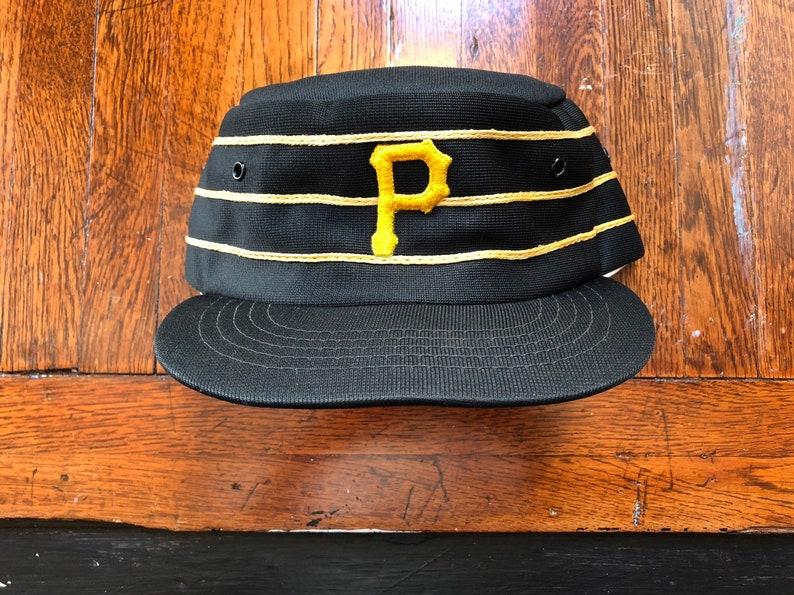 ffc6afbddb6d1 Vintage 80s Coca Cola Pittsburgh Pirates MLB Baseball Pillbox