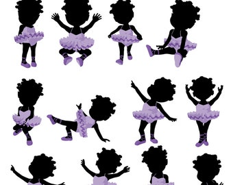 Little African American Girl Fun Volume 1 Royalty Free Art for Commercial and Personal use