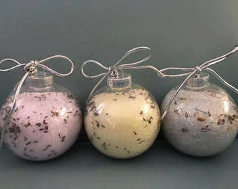 Bath Salt Ornaments