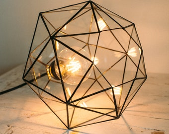 Hanging lamp - Pendant light - Geometric lamp - Home decor - Scandinavian Design - Loft Light - Industrial lighting - Chandeliers lamp