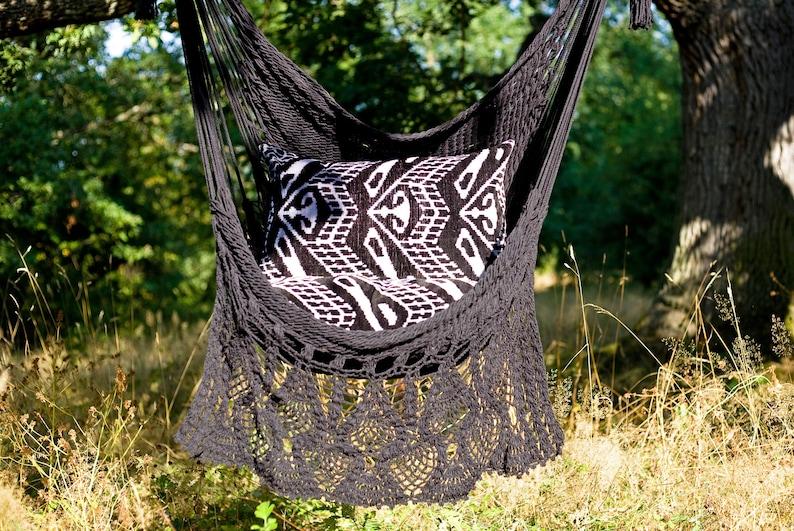 Ikat Silk Velvet Cushion Cover / Ikat Pillow Cover / Boho image 0