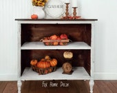 SOLD Antique Cabinet Hutch Server Buffet SOLD