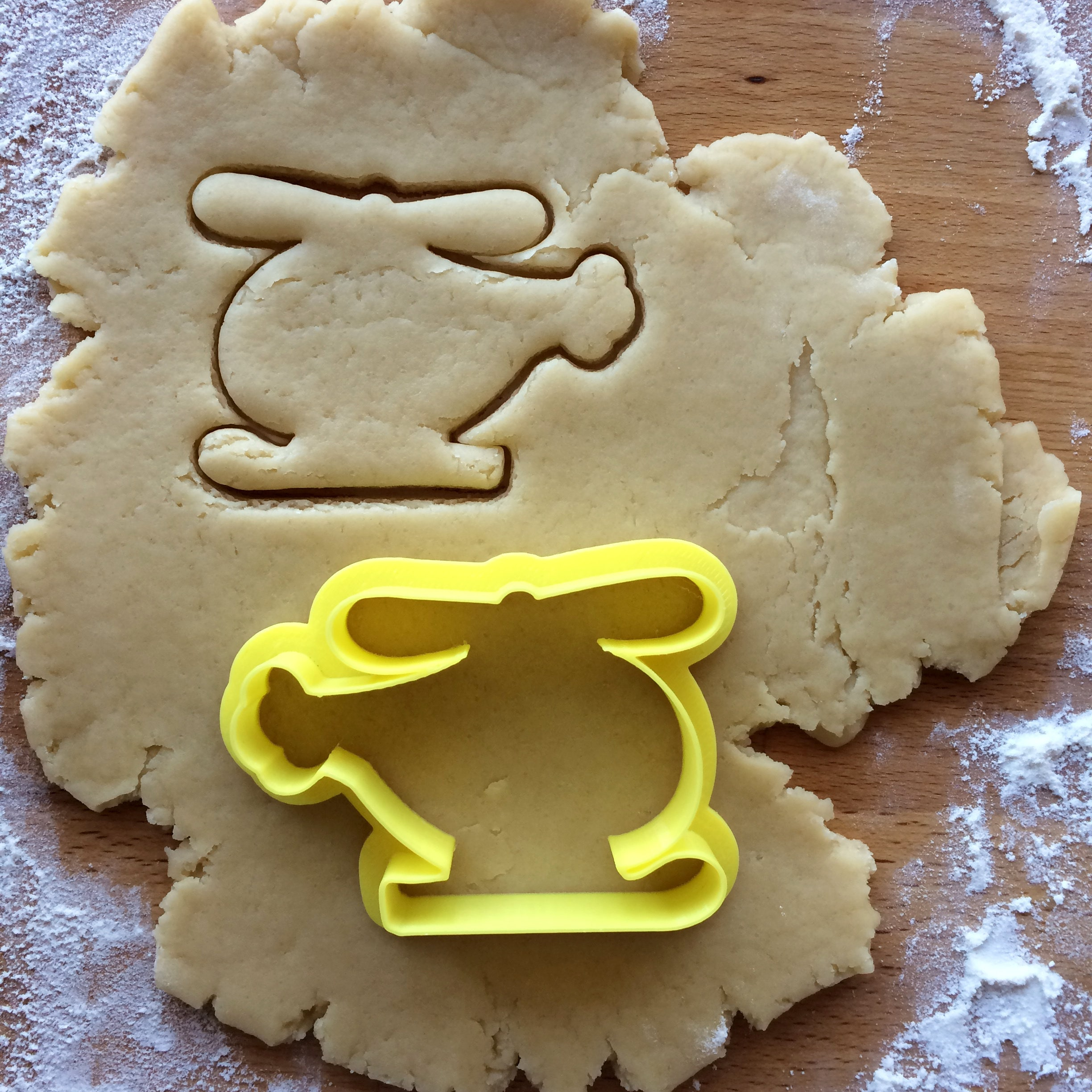 Helicopter Cookie Cutter Chopper Outline Cookie Cutter Baby Etsy