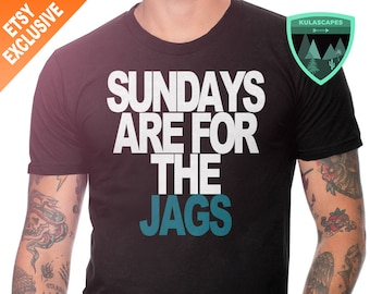 Jacksonville Jaguars Sunday Shirt, Sundays are for the Jags Shirt, Jaguars Shirt, Sundays are for the Jaguars Shirt, Jags Gift, Jaguars Dad