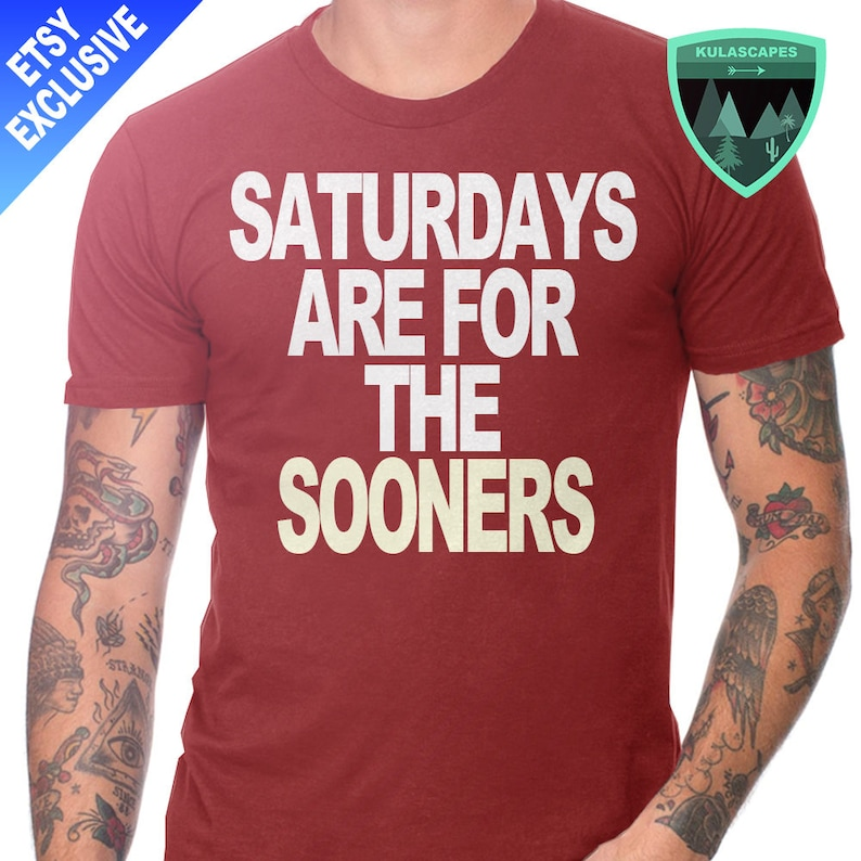 Official Saturdays are for the Sooners Shirt Sooners Football  af344a25b