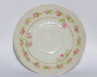 Limoges France  Saucer Marshall Fields & Co Chicago  Marshall Fields China
