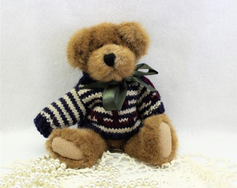 Boyds Bear 1980-1990 with Nautical Sweater Retired Handmade