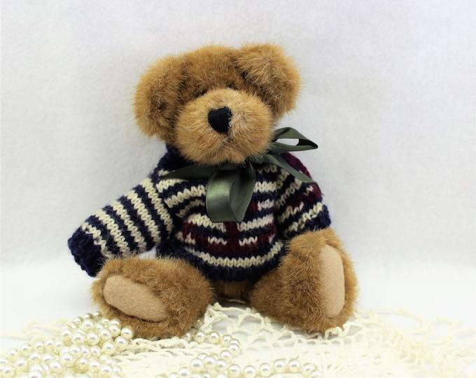 Boyds Bear 1980-1990 with Nautical Sweater Retired Handmade
