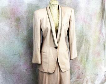 Giorgio Armani vintage woman's 2 piece pant suit.