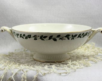 Superior Hall Quality Cameo Rose Pattern Vegetable Dish without lid - 1950's - Vintage Dinnerware