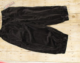 Velveteen knickers size 11/12 made by Chic Pea New York brown new with tags