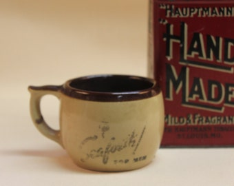 Vintage Seaforth Mens shaving cup Alfred McKelvy Co  great shape