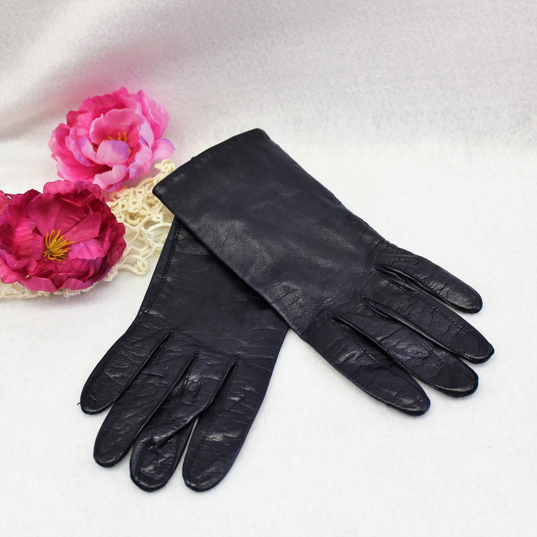 vintage leather gloves