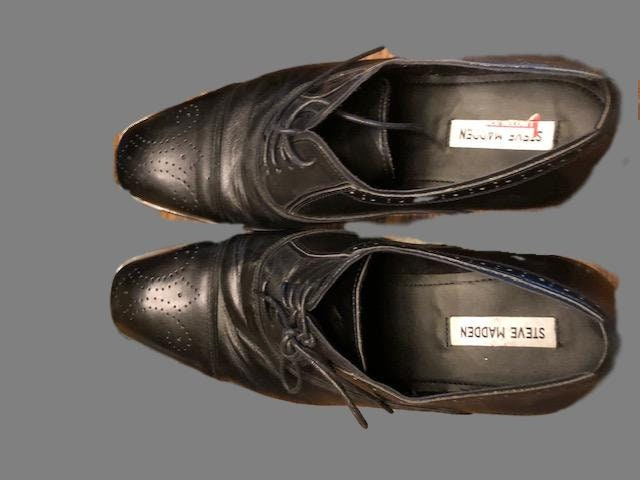 42936d0c675 Men's black oxford shoes in size 13 by Steve Madden Never worn.