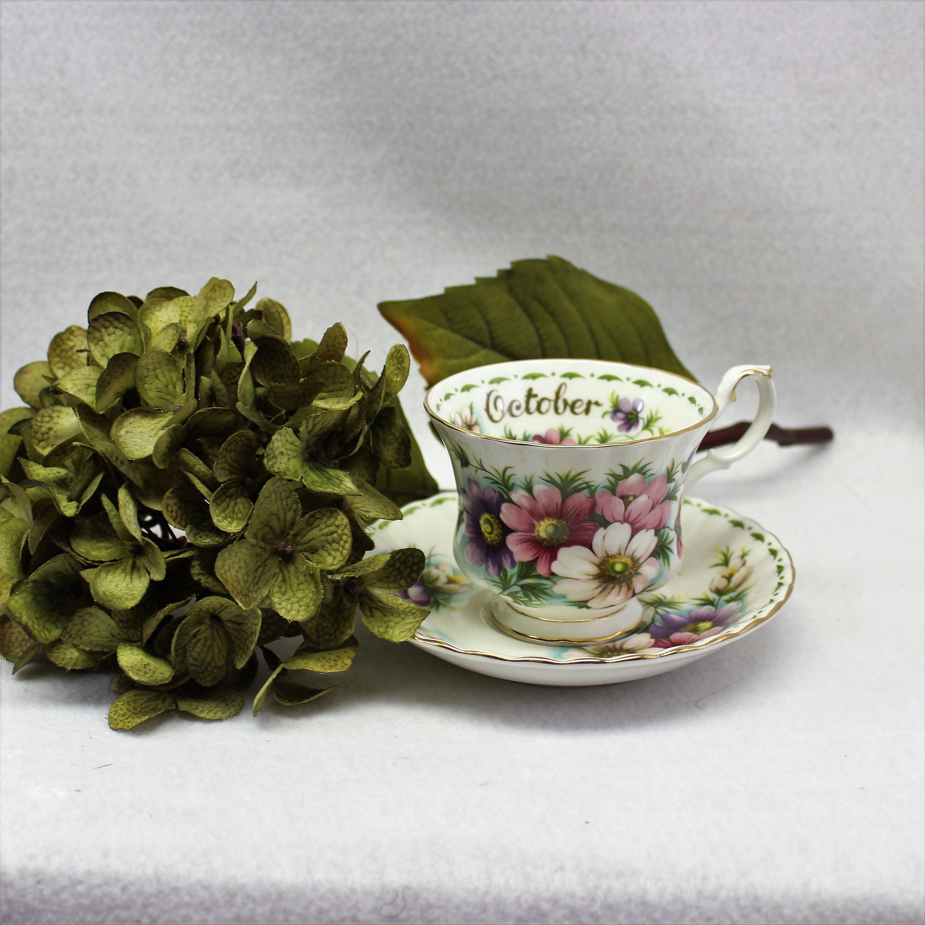 Royal albert flower of the month tea cup october cosmos bone china royal albert flower of the month tea cup october cosmos bone china made in england birthday gift for october cosmos flower lover izmirmasajfo