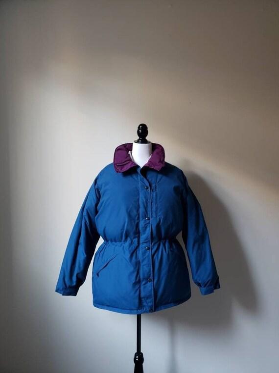 Vintage 80s, 1980s LL Bean parka, winter jacket, p