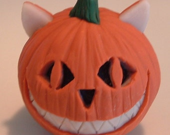 Sculpey Cheshire Cat Pumpkin