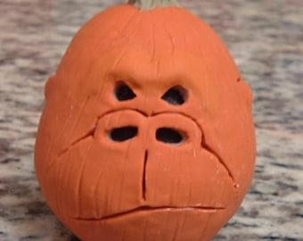 Sculpey Gorilla Pumpkin